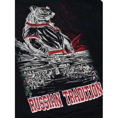 Свитшот Russian Tradition чёрный