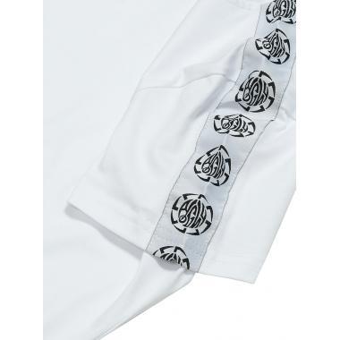 Женская футболка с фирменной лентой «Коловрат» белая