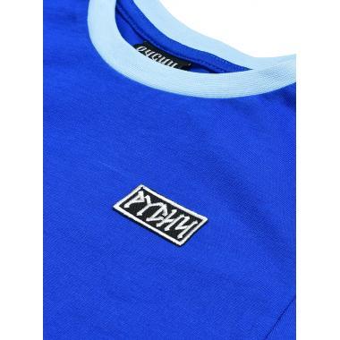 Детская футболка РУСИЧ реглан синяя