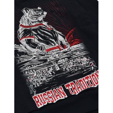 Худи Russian Tradition чёрная