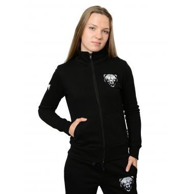 Женская олимпийка «Медведь» чёрная