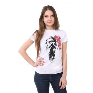 Женская футболка «Доброслав» белая
