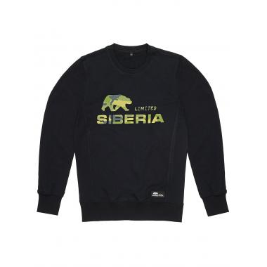 Свитшот «Logo camo» Siberia LTD чёрный